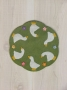 Country Geese Candle Mat