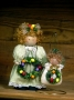 Della Robbia Doll and Ornament
