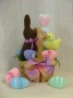 Easter Sweets Basket: filled with felt treats