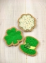 Frosted St. Patrick's Day Cookies