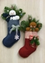 Frosty & Ginger Stocking Wall Hangings