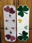 Hearts and Shamrocks Table Runner