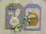 Holiday Tags #4 – Easter Bunny/Basket