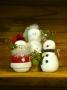 Make Believe Snowmen: Santa, Reindeer, & Angel