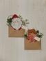Merry Greeting: Santa & Teddy Bear
