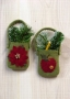 O Christmas Tree III: Pocket Orn. III (apple, poinettia)