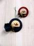O Christmas Tree: Snowman Ornament & Pin