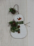 Old Fashioned Christmas Snowman Ornament