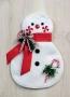 Peppermint Snowman Wall Hanging