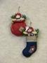 Rag Doll Stocking & Bag Ornament