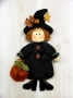 Ready for Trick or Treat Wall Hanging