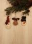 Santa, Moose, & Snowman Ornament