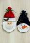 Santa and Snowman Treat Bags