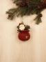 Santa's Gift Bag Ornament