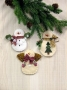 Snowman Ornament Collection I