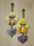 Spring Chick & Duck Door Knob Hanger