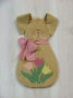 Springtime Bunny Door Hanging