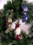 Stocking Ornaments (Santa & Snowman)
