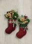 Tex & Teddy Stocking Ornaments