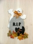Tombstone Ghost Wall Hanging