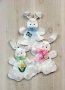 Tumbling Bunnies Wall Hanging