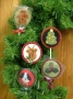 """""""Penny Candy"""" Ornaments"""