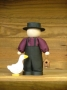 Amish Boy Collectible Pudgie