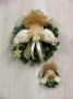 Angel Wreath & Ornament (3 1/2