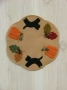 Autumn Candle Mat