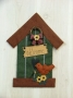 Birdhouse Door Hanging