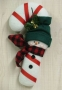 Candy Cane Snowman Wall Hanging