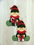 Carter and Troy – Santa's Helpers Wall Hanging