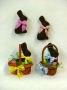 Chocolate Bunnies: Pins, Mini Easter Basket