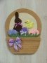 Easter Basket Wall Hanging