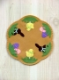 Easter Sweets Candle Mat