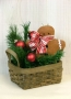 Festive Gingerbread Basket