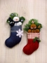 Frosty & Ginger Stocking Ornaments