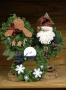 Gingerbread, Santa, & Snowman Wreaths