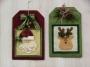 Holiday Tags I Reindeer/Santa
