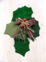 Holly Leaf Wall Hanging