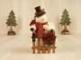 Lg. Snowman Pudgie