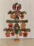 Mini Gingerbread Ornament Tree