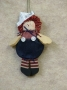 Mini Rag Doll Ornament-Boy