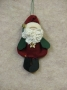 Mini Santa Ornament
