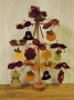 Mini Thanksgiving Tree Ornaments