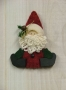 O Christmas Tree II: Sitting Santa Ornament