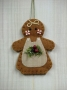 O Christmas Tree: Gingerbread Girl Ornament