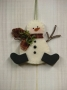 O Christmas Tree: Snowman Ornament