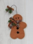 Old Fashioned Christmas Gingerbread Ornament