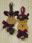 Ornament Danglers: Moose & Reindeer